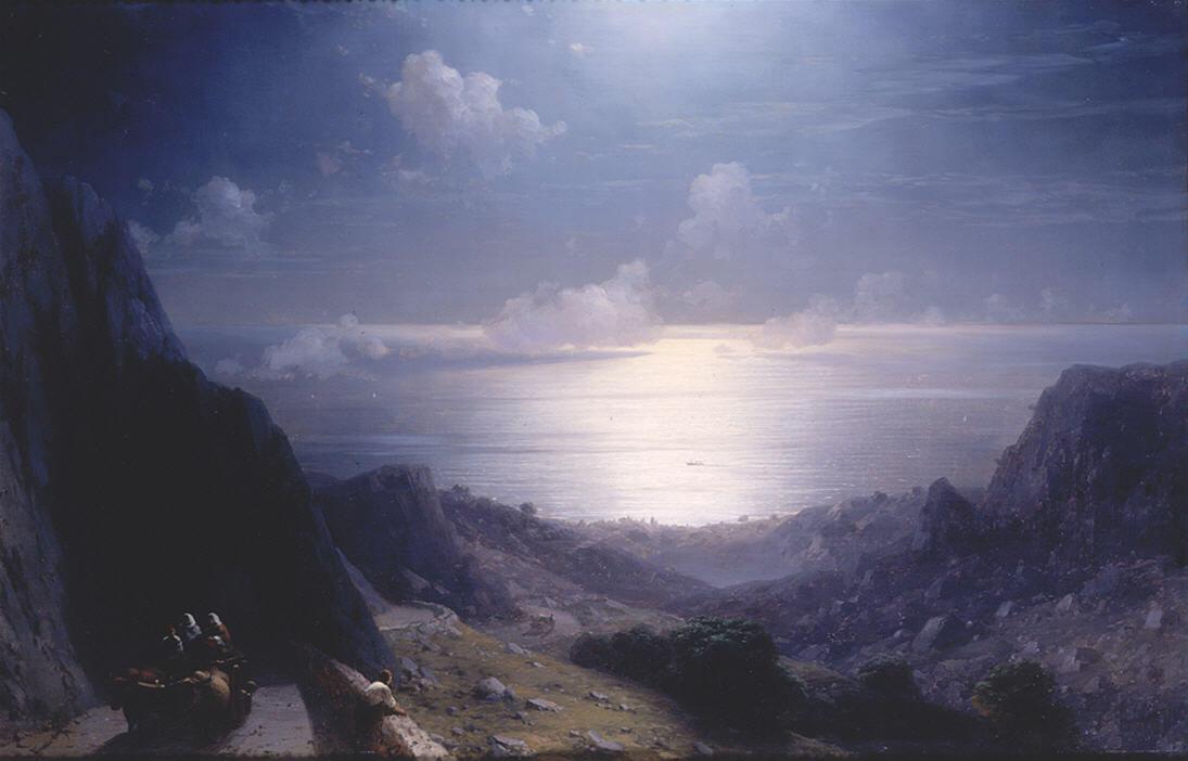 Айвазовский взгляд из байдарских ворот