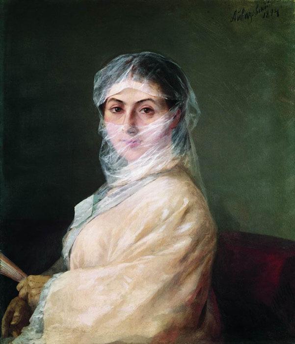 Айвазовский портрет жены