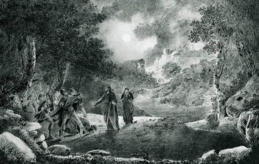 Айвазовский предательство Иуды