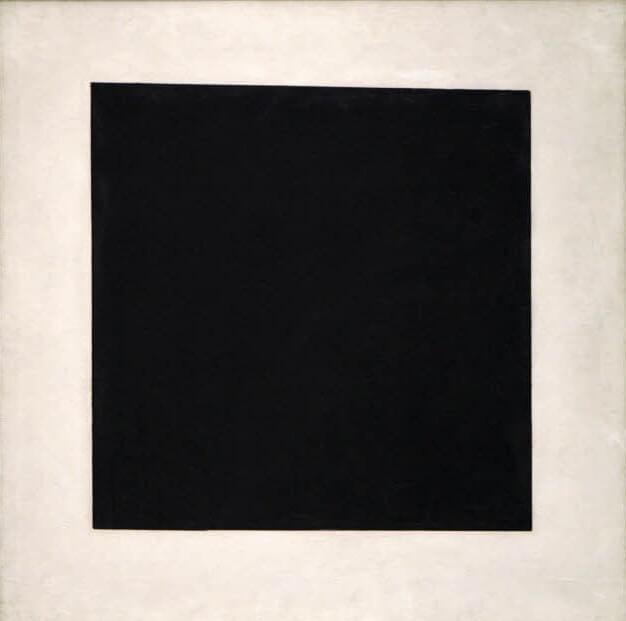 Малевич чёрный квадрат 1929