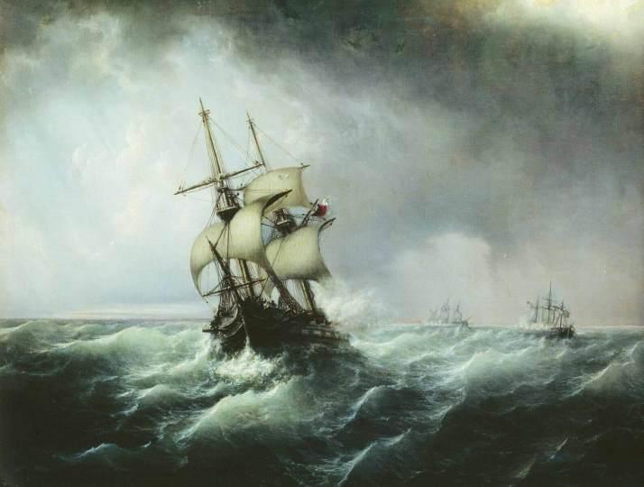 Боголюбов морской бой