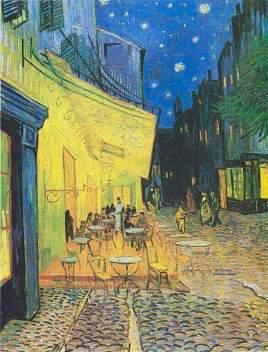 Ван Гог. Ночная терраса кафе