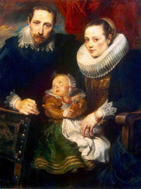 Ван Дейк семейный портрет