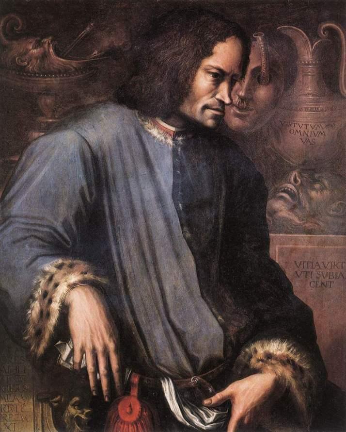Вазари портрет Лоренцо Медичи