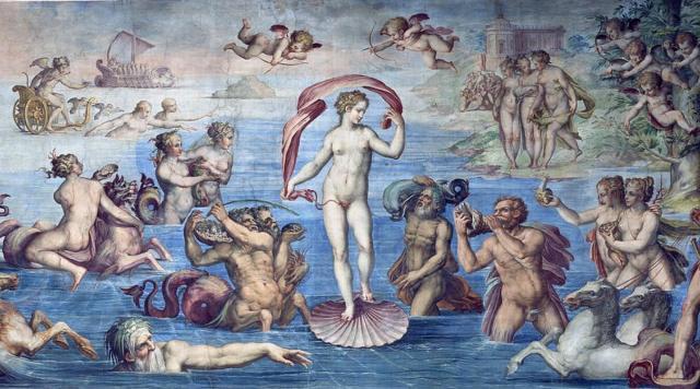 Вазари рождение Венеры