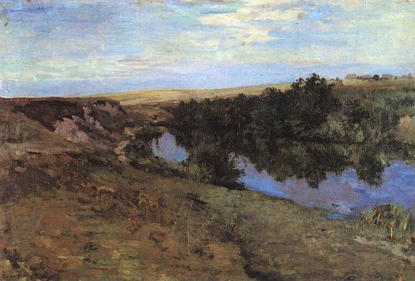 Коровин речка в Меньшове