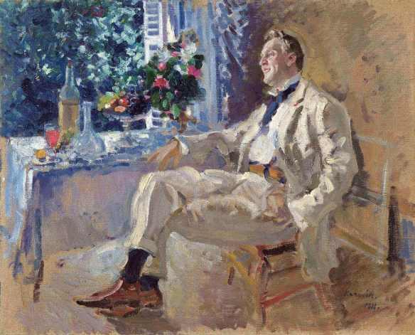 Коровин портрет Шаляпина