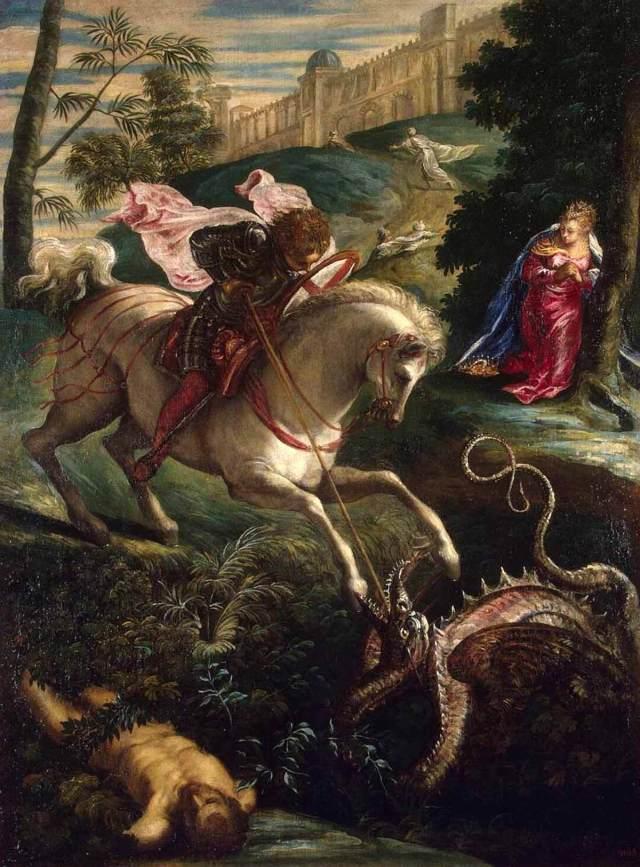 Тинторетто святой георгий