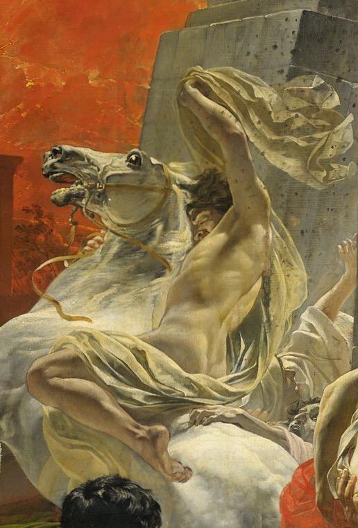 Последний день Помпеи всадник