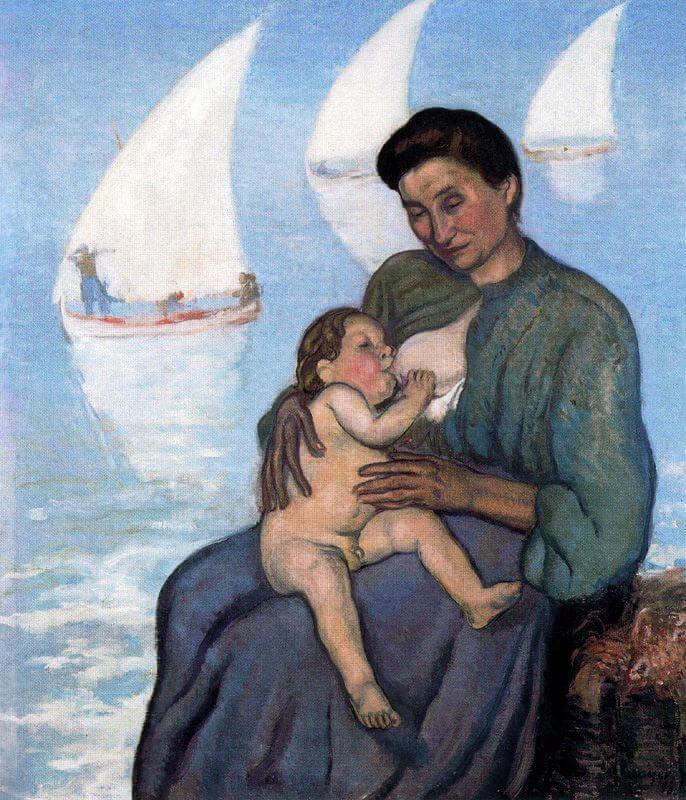 Жоан Миро материнство 1908