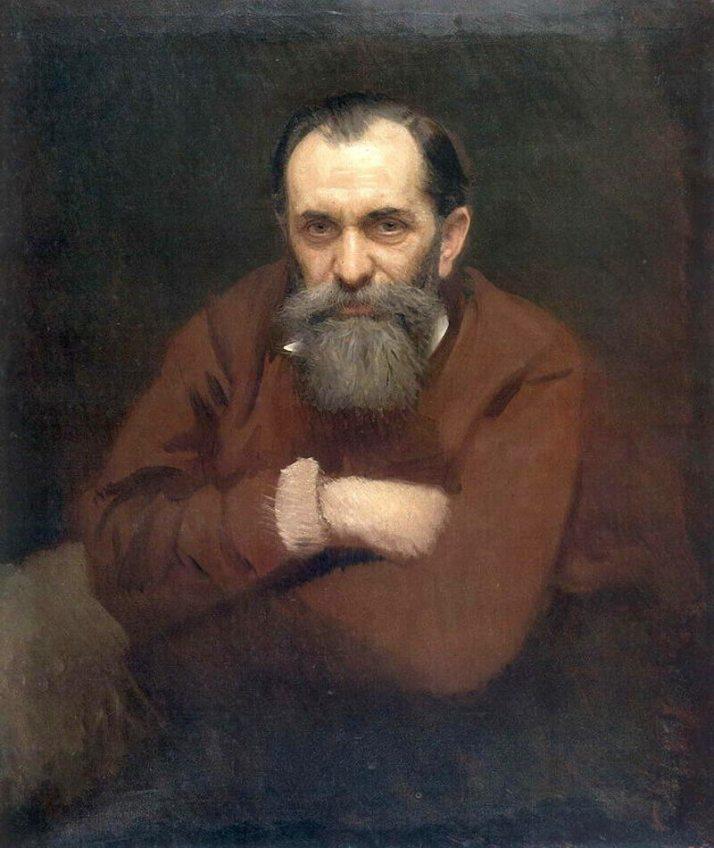 Крамской портрет Перова