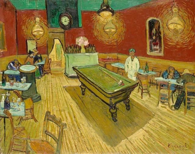 Ван Гог ночное кафе