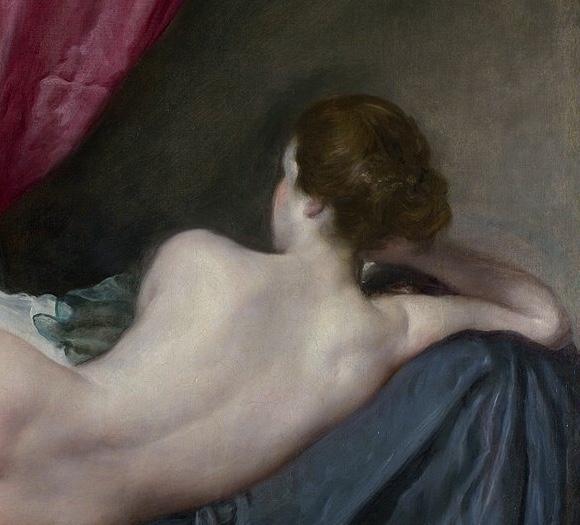 Веласкес Венера перед зеркалом фрагмент