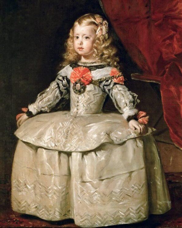 Веласкес портрет инфанты Маргариты