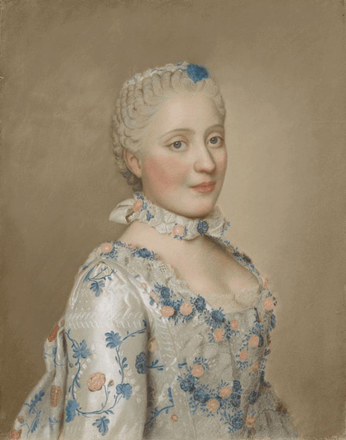 Лиотар портрет Марии-Жозефины Саксонской