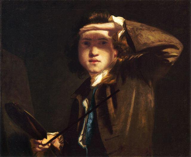 Рейнольдс автопортрет 1747