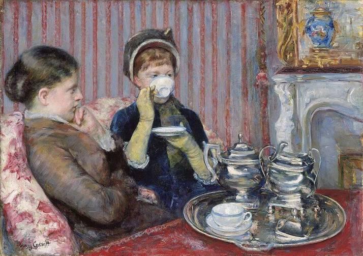 Мэри Кассат чаепитие