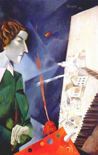 Шагал. Автопортрет с палитрой