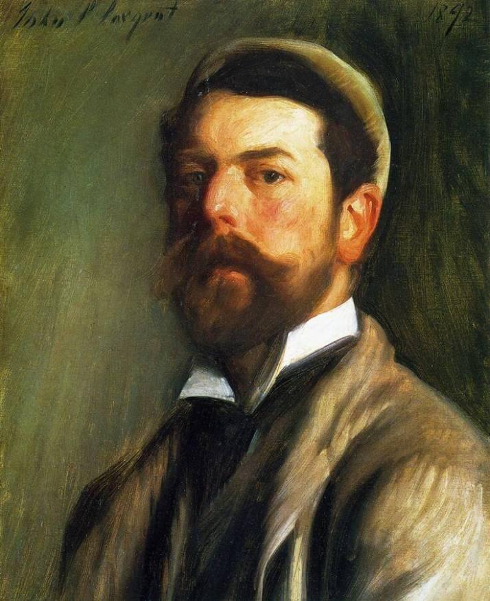 Сарджент автопортрет 1892