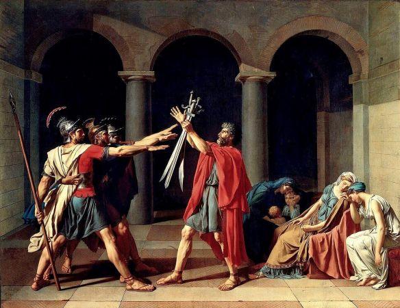 Давид клятва Горациев