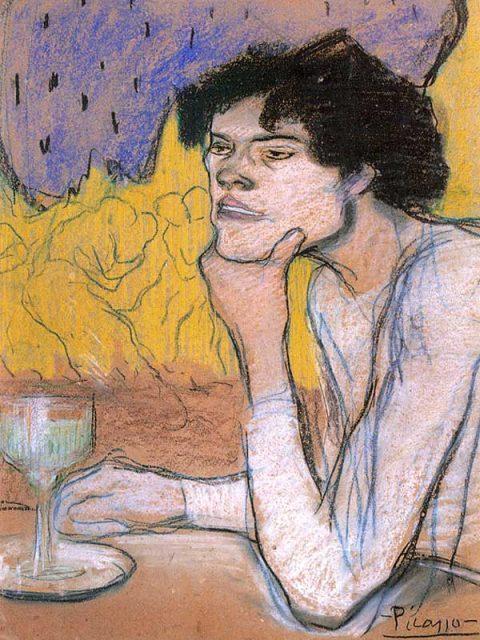 Пикассо абсент 1901 год