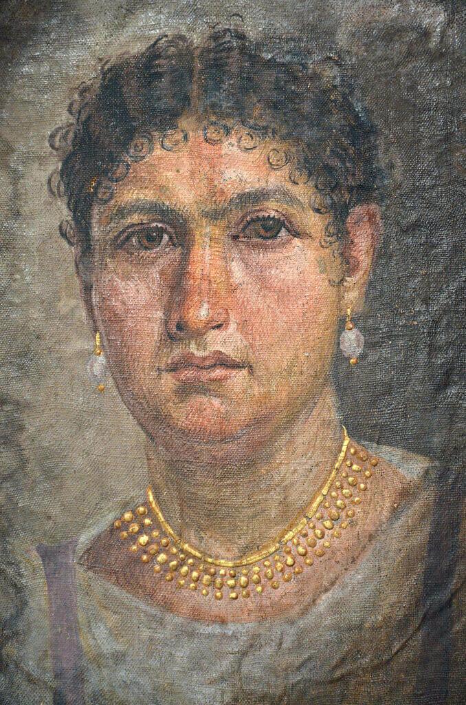 Фаюмский портрет Алины