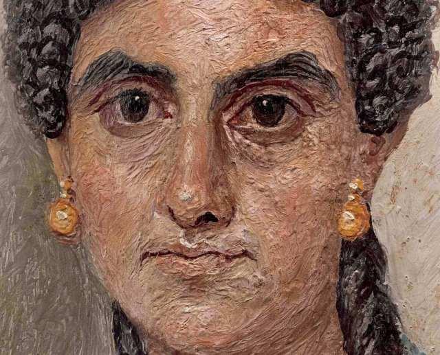 Фаюмский портрет женщины музей метрополитен