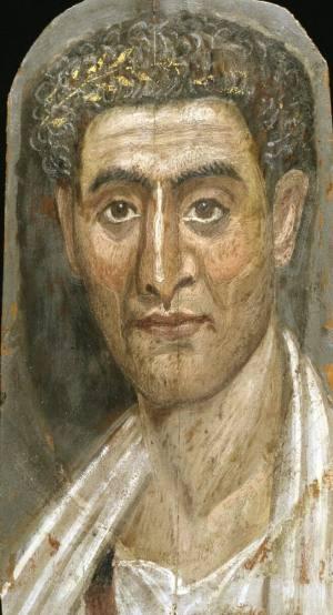 Фаюмский портрет мужчины бруклинский музей