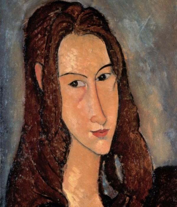 Модильяни портрет девушки 1917