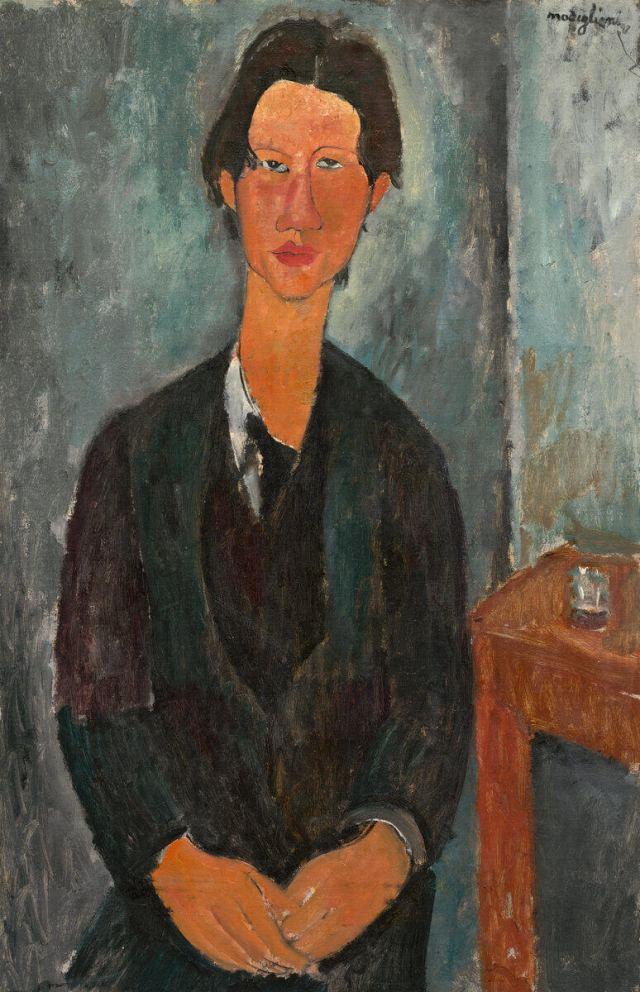 Модильяни портрет Хаима Сутина