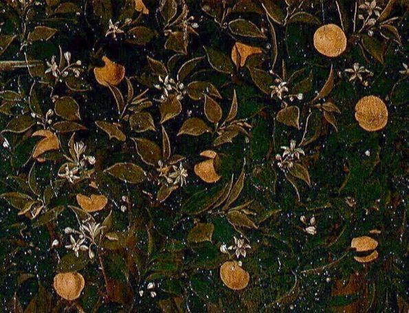 Боттичелли апельсиновое дерево