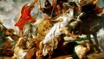 «Охота на львов» Рубенса. Эмоции, динамика и роскошь «в одном флаконе»