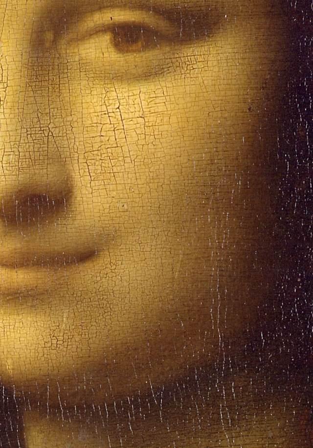 Мона Лиза деталь
