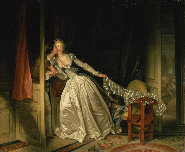 Фрагонар украденный поцелуй