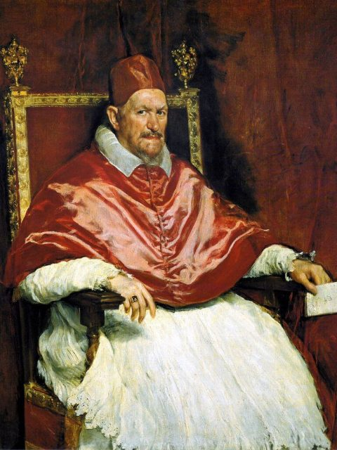 Веласкес Папа Иннокентий x