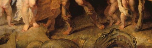 Рубенс Персей и Андромеда (деталь)