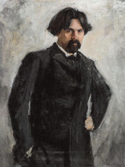 Серов. Портрет Сурикова