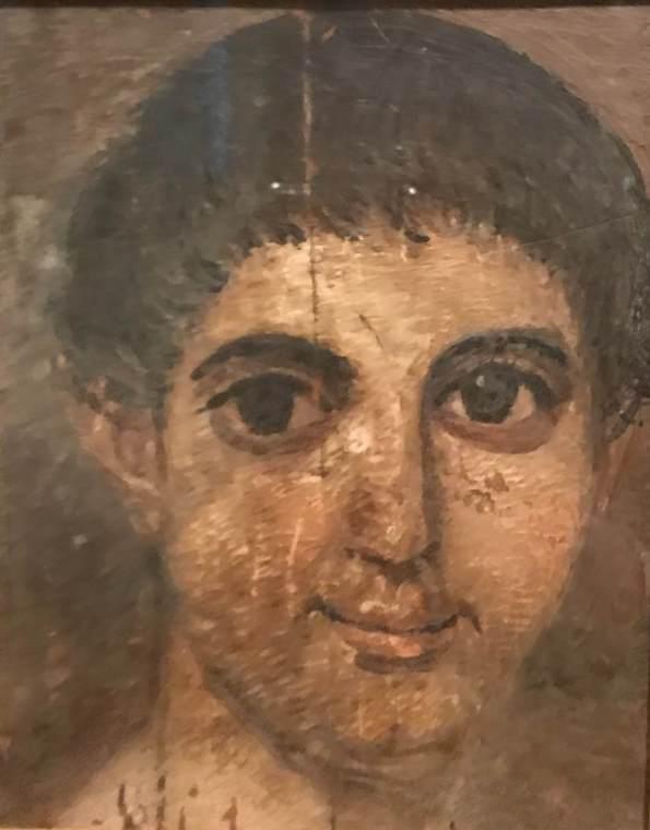 Фаюмский портрет подростка