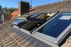 Création fenêtre de toit trio velux