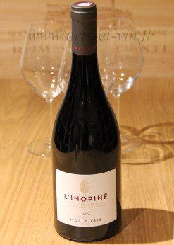 Bouteille L Inopine Rouge MasLauris