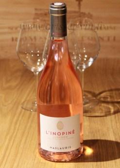 Bouteille LInopine Rose MasLauris Luberon
