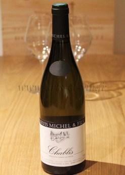 Bouteille Chablis Louis Michel