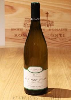 Bouteille ontagny 1er Cru Les Vignes Derriere Domaine Aladame