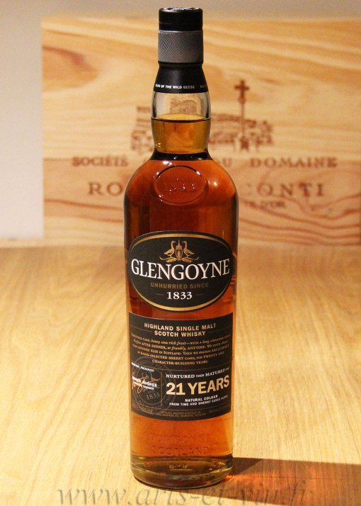 Bouteille Whisky Single Malt Glengoyne 21 ans Highland