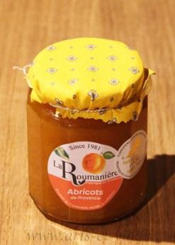 Pot Confiture Abricolts de Provence La Roumaniere