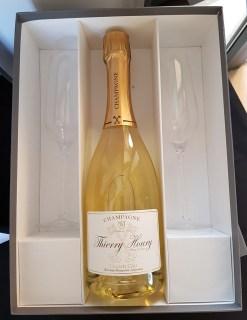 Coffret champagne 2 flutes