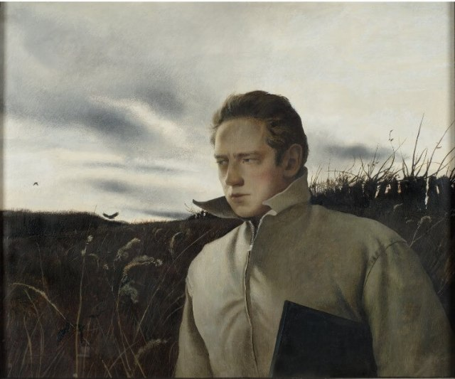 Andrew Wyeth. Self portrait. 1945.
