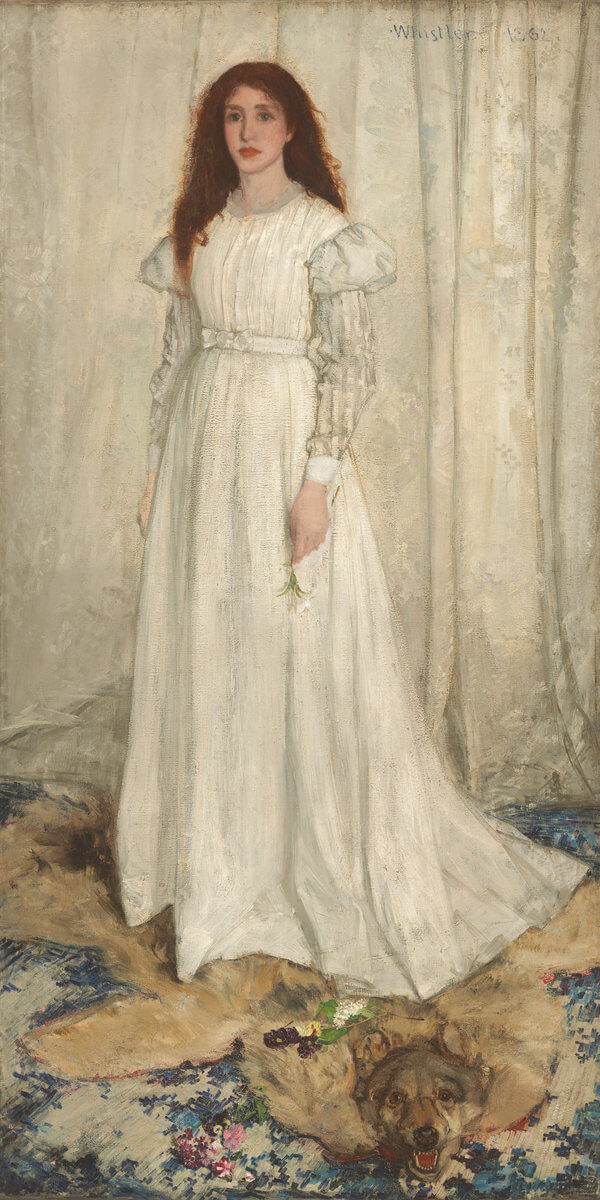 James Whistler Symphony in white no. 1