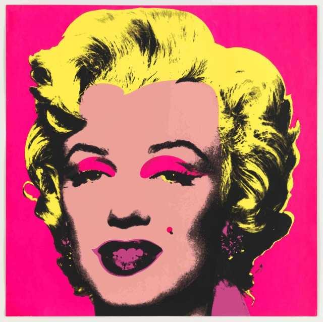 Andy Warhol. Marilyn Monroe. Silkscreen, paper. 1967.