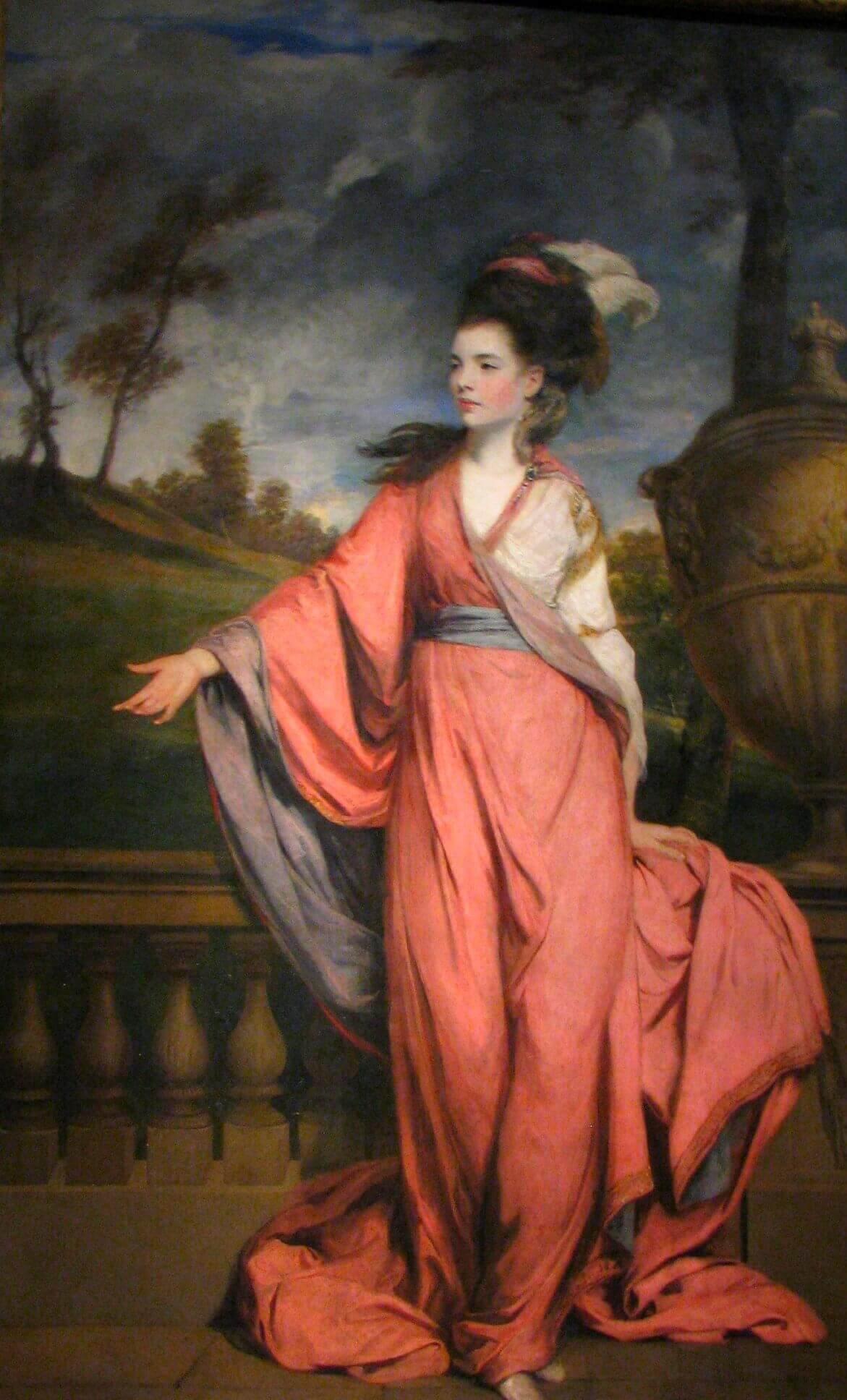 Joshua Reynolds. Countess of Harrington. 1779.
